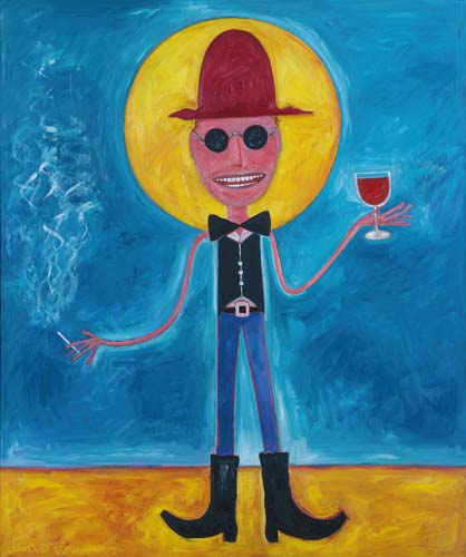 COWBOY TEXAN ART DEALER